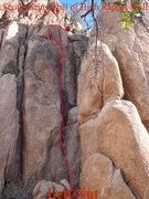 Rock Climbing Photo: Left Nut - Beta Granite Dells Prescott, AZ