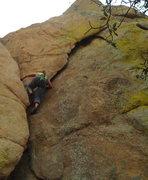 Rock Climbing Photo: Climbing Granite Dells