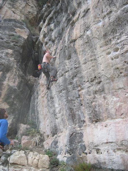 Vinny of NU Climbing.