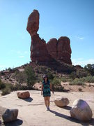 Rock Climbing Photo: Moab and Arches National Park, Utah
