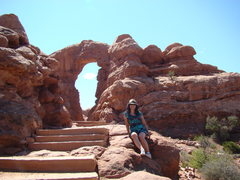 Rock Climbing Photo: Arches National Park