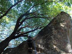 Rock Climbing Photo: Castle Rock