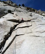 """Rock Climbing Photo: """"The High Life"""" first pitch variation"""
