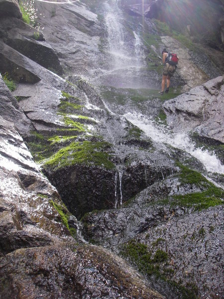 Rock Climbing Photo: waterfall