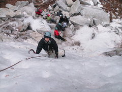 Rock Climbing Photo: Ice climbing