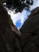 Rock Climbing Photo: Abrahm on P6.