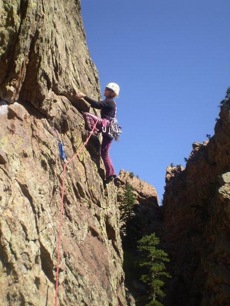Rock Climbing Photo: Jenny Ball pitch 2.