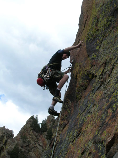 Rock Climbing Photo: CD pitch 3 (or pitch 2?).
