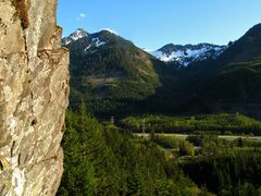 Rock Climbing Photo: View from the top of pitch 2