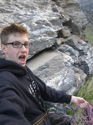Rock Climbing Photo: Me. On belay.