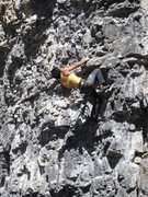 Rock Climbing Photo: Some crazy rockchuck chinese guy who was on the cl...