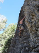 Rock Climbing Photo: C.of S. again. Yep. I loved it enough to put up a ...
