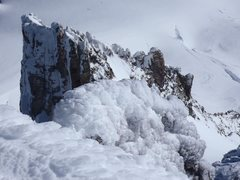 Rock Climbing Photo: Summit Ridge looking down toward Pearly Gates