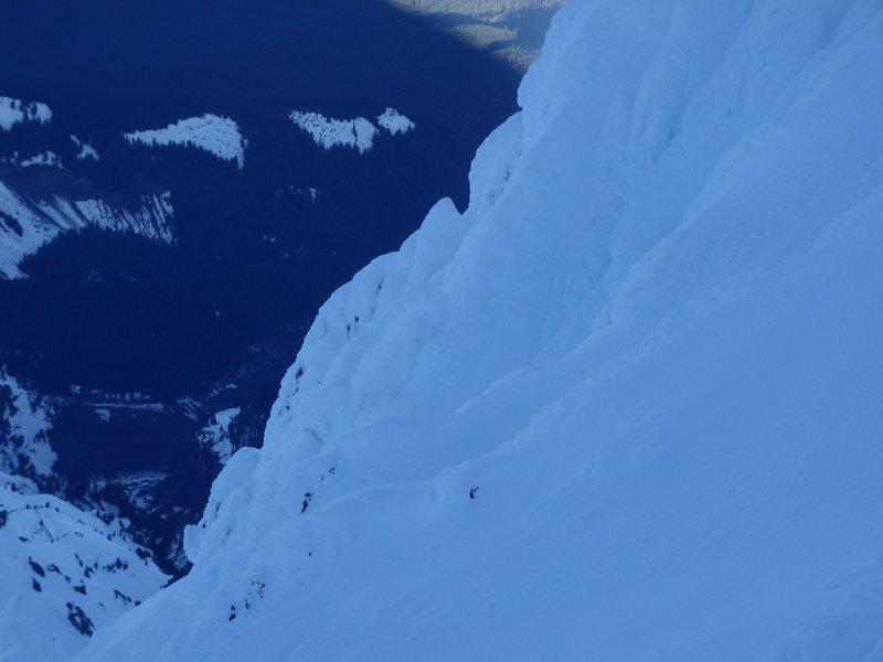 Yokum Ridge from Leuthold Couloir