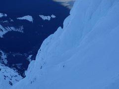 Rock Climbing Photo: Yokum Ridge from Leuthold Couloir