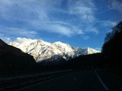 Rock Climbing Photo: Mt. Blanc