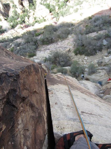 Rock Climbing Photo: short nice hand crack.