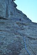 Rock Climbing Photo: Heading up the ramp