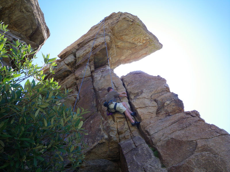 Rock Climbing Photo: Happily never after