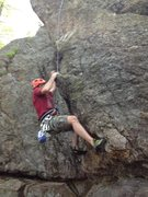 Rock Climbing Photo: Christopher Lane working South End.
