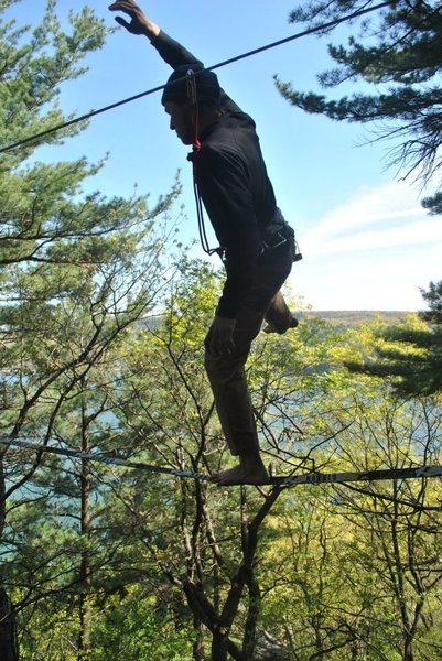 Rock Climbing Photo: highline