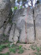 Rock Climbing Photo: Streck dich