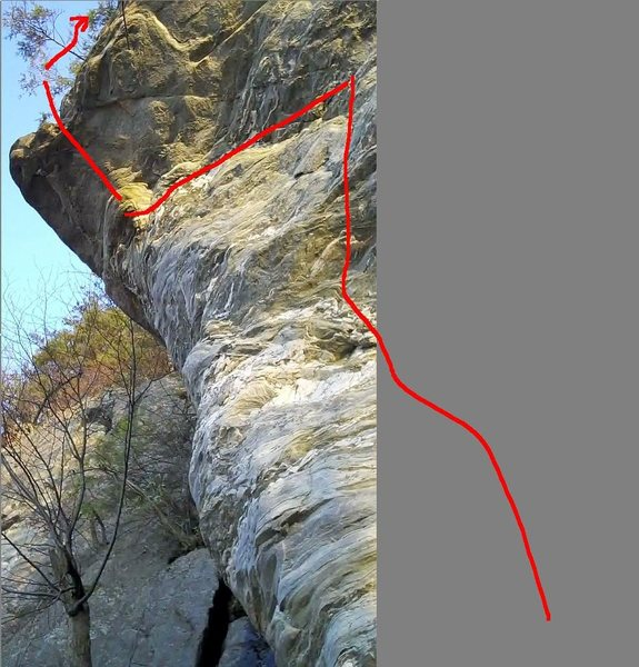 Rock Climbing Photo: Apologies for the goofy half photo, but figured it...