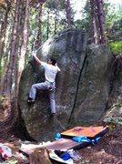 Rock Climbing Photo: Tomi-San
