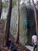 Rock Climbing Photo: Kondo-San