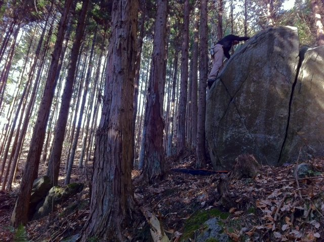Rock Climbing Photo: Green Slab