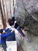 Rock Climbing Photo: Reeeaaaacccchhhh!