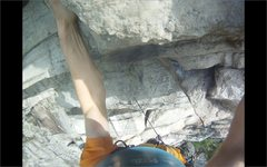 Rock Climbing Photo: A View from the crux move of Modern Times
