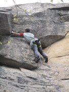 Rock Climbing Photo: first pitch
