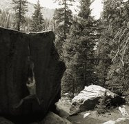 Rock Climbing Photo: Seurat, V8, Ferdinand Schulte climber.