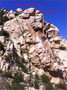 Rock Climbing Photo: Route Beta for DPT.