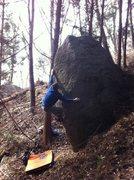 Rock Climbing Photo: Loopdy V6