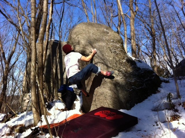 Rock Climbing Photo: Slapper