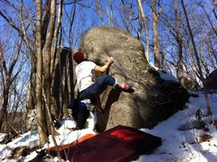 Rock Climbing Photo: Slapper