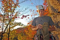 Rock Climbing Photo: Good Luck Mountain, Adirondacks