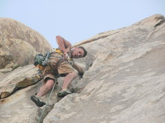Rock Climbing Photo: Leading White Lightning