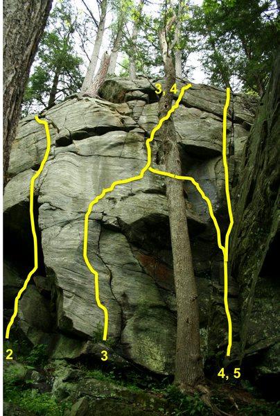 Rock Climbing Photo: 2) Jay's Fingers 3) I Want My Mommy 4) I Want My M...
