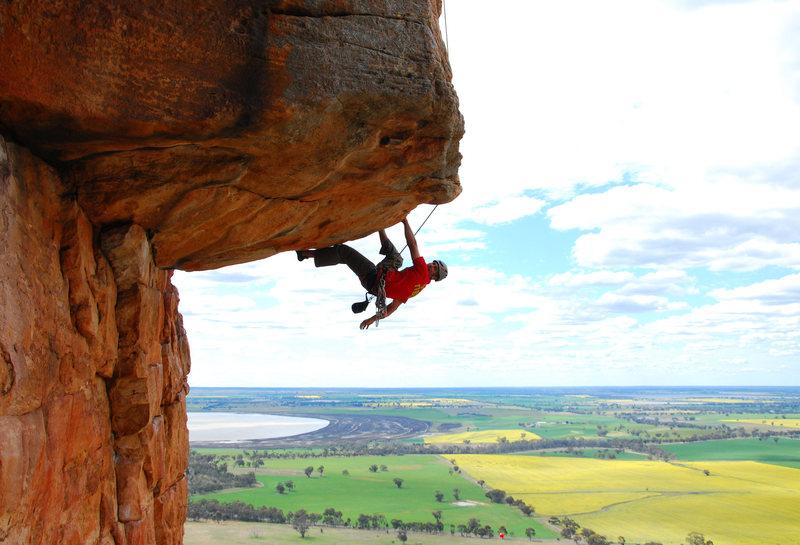 Rock Climbing Photo: Seconding the Mega-Classic Kachoong (21)