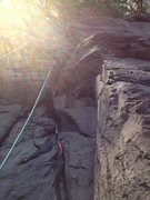 Rock Climbing Photo: Oni Goroshi with gear
