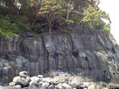 Rock Climbing Photo: Kita No Iwa Nanmen (North Rock South Side) Shows t...