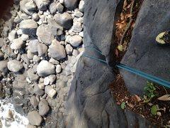 Rock Climbing Photo: Top of Oni Goroshi
