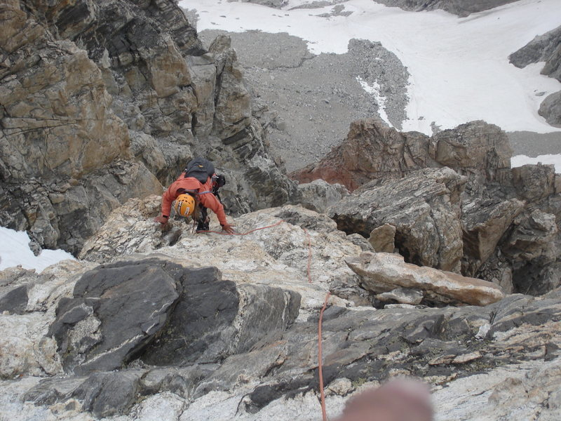 The easy scrambling conditions for most of the Upper Exum