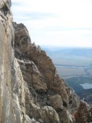 "Rock Climbing Photo: A view of the Petzolt with the famous ""window..."