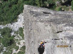 Rock Climbing Photo: Corrugation Corner 3rn Pitch