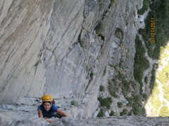Rock Climbing Photo: CC 2nd Pitch