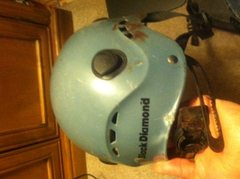 The Half Dome Helmet after the fact.